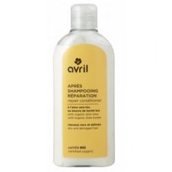 Avril Cosmétique Après shampooing Réparation cheveux secs abîmés 200 ml hygiène lescopinesbio