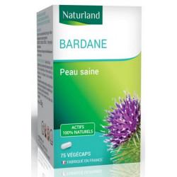 Naturland Bardane 75 gélules vegecaps pureté de la peau les copines bio