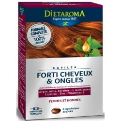 Dietaroma Capilea forti cheveux 60 capsules les copines bio