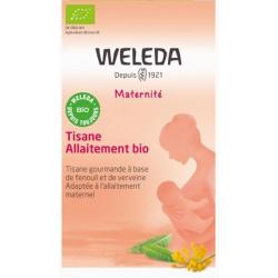 Weleda Tisane allaitement bio 20 sachets lactation maternelle Les copines bio