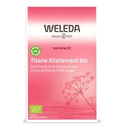 Weleda Tisane allaitement bio Fruits rouges 20 sachets lactation améliorée Les copines bio