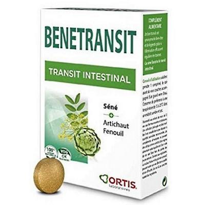 Ortis Benetransit Transit Intestinal 54 comprimés transit digestion ballonnement Les copines bio