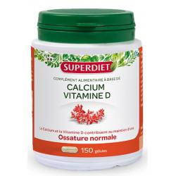 Super Diet Calcium Vitamine D 150 gélules marines reminéralisant Les copines bio