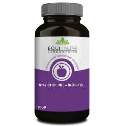 Equi Nutri Choline Inositol 90 gélules végétales foie métabolisme des lipides Les copines bio