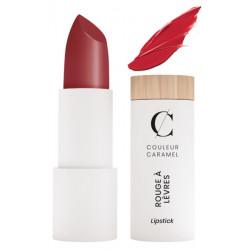 Couleur Caramel Rouge à lèvres vrai rouge nacré n° 223 - 3.5gr les copines bio classique et beau maquillage bio