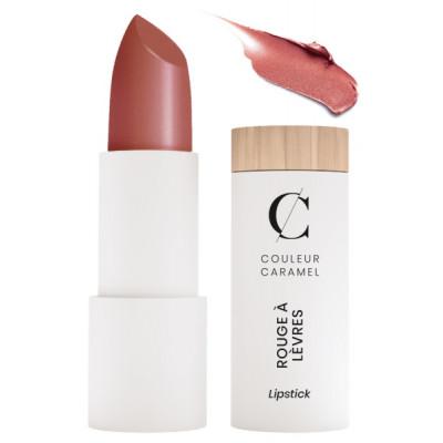 Couleur Caramel Rouge à lèvres brun rouille nacré n° 224 - 3.5gr maquillage bio les copines