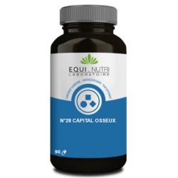 Equi Nutri Capital Osseux Complexe No 28 90 gélules pidolate de calcium Les copines bio