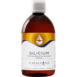 Catalyons Oligo élément SILICIUM acide orthosilicique 500 ml articulations tendons collagène Les copines bio