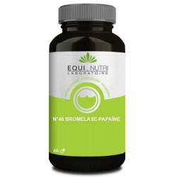 Equi Nutri Bromelase Papaine 60 gélules végétales enzymes protéolytiques digestion Les copines bio