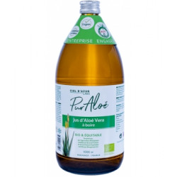 Pur Jus d'Aloé Vera 1 litre Puraloe complément alimentaire les copines bio