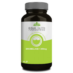 Equi Nutri Bromelase 60 gélules végétales 300mg bromélaïne protéolytique Les copines bio