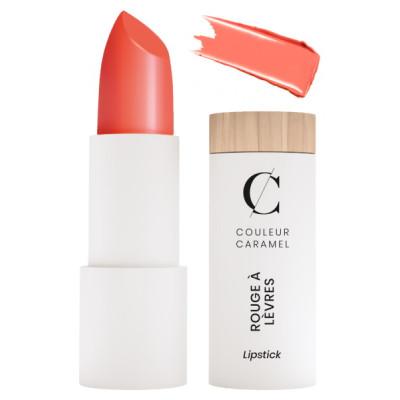 Couleur Caramel Rouge à lèvres n°260 Corail maquillage bio les copines satiné