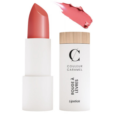 Couleur Caramel Rouge à lèvres n°261 Rose gourmand maquillage bio les copines bio