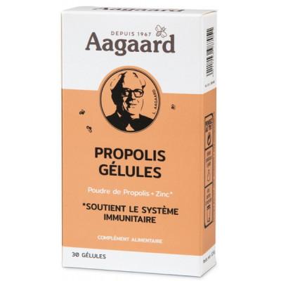 Propoline Propolis Zinc Gélules 30 gélules Aagaard propolis les copines bio