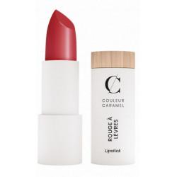 Couleur Caramel Rouge à lèvres n°263 Rouge profond satiné maquillage bio les copines