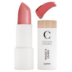 Couleur Caramel Rouge à lèvres nacré Rouge Rose n°287 nacré maquillage minéral Les copines bio