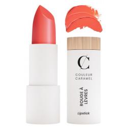 Couleur Caramel Rouge à lèvres glossy No 501 Mandarine 3.5gr repulpant trendy moderne les copines bio