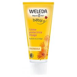 Crème protectrice Visage bébé au Calendula 50ml Weleda les copines bio