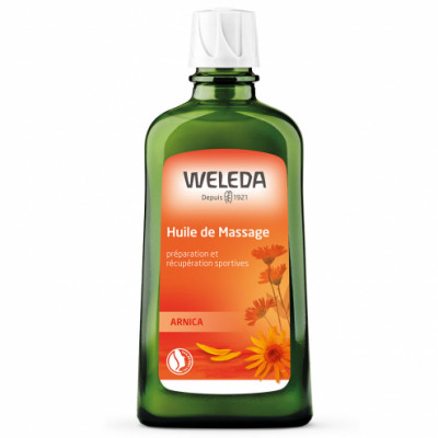 weleda Huile de massage à l'Arnica 200 ml les copines bio