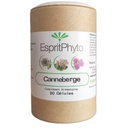 Esprit Phyto Canneberge Cranberry 90 gélules proanthocyanidines les copines bio