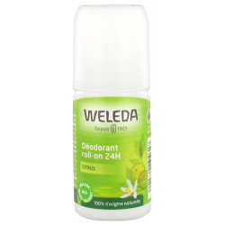 Weleda Deodorant roll on 24h Citrus 50ml déo bio les copines bio