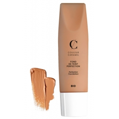 Couleur Caramel Fond de teint Perfection No 36 -  Beige foncé 35 ml produit de maquillage biologique Les Copines Bio