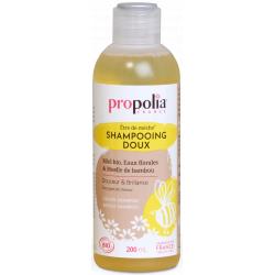 Propolia Shampoing Doux Bio être de mèche Miel Bambou 200 ml usage quotidien les copines bio
