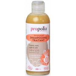 Propolia Shampooing Traitant Bio Propolis Miel Argile Cade 200 ml huiles essentielles Les copines bio