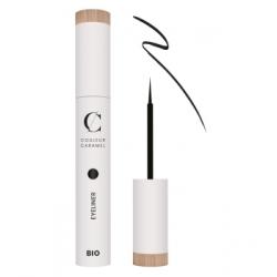 Couleur Caramel Eye liner No 01 -  Noir 5 ml produit de maquillage pour les yeux Les Copines Bio