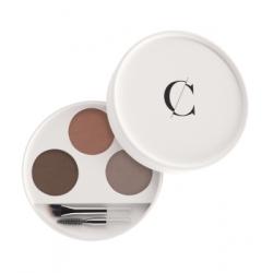 Couleur Caramel Kit sourcils No 28 -  Blondes 2,4 g produit de soin pour le visage Les Copines Bio