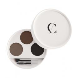 Couleur Caramel Kit sourcils No 29 -  Brunes 2,4 g produit de soin pour le visage Les Copines Bio