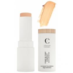 Couleur Caramel Fond de teint Compact Haute Définition No 11 -  Beige diaphane 9 g produit de maquillage pour le visage Les Copi