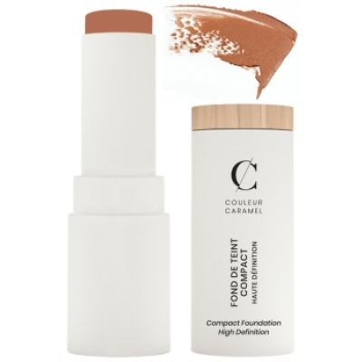 Couleur Caramel Fond de teint Compact Haute Définition No 15 -  Beige foncé 9 g produit de maquillage pour le visage Les Copines