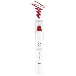 Couleur Caramel Twist & lips No 407 -  Rouge glossy 3 g produit de maquillage minéral Les Copines Bio