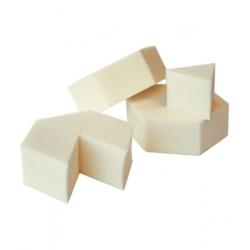 Couleur Caramel Eponge naturelle prédécoupée x1 produit de maquillage pour le Teint Les Copines Bio