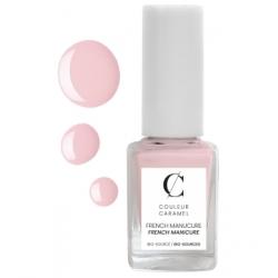 Couleur Caramel French manucure No 03 -  Rose 11 ml produit de maquillage pour les ongles Les Copines Bio