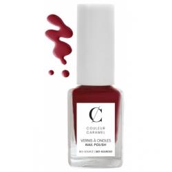 Couleur Caramel Vernis à ongles No 11 -  Grenat mat 11 ml produit de maquillage pour les ongles Les Copines Bio