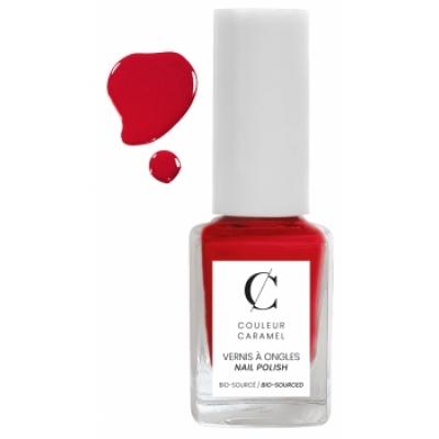 Couleur Caramel Vernis à ongles No 23 -  Rubis laqué 11 ml produit de maquillage pour les ongles Les Copines Bio