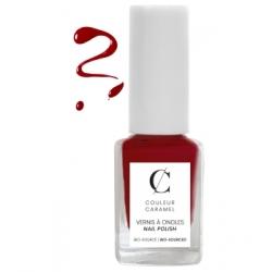Couleur Caramel Vernis à ongles No 42 -  Rouge poinsettia 11 ml produit de maquillage pour les ongles Les Copines Bio