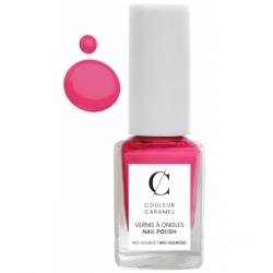 Couleur Caramel Vernis à ongles No 52  -  Rose flash 11 ml produit de maquillage pour les ongles Les Copines Bio