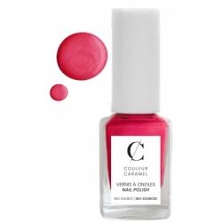 Couleur Caramel Vernis à ongles No 71 Rose fuchsia 11 ml produit de maquillage pour les ongles Les Copines Bio