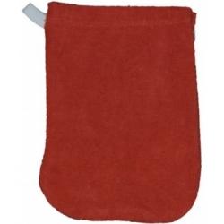 Popolini 1 gant de toilette en coton biologique Cayenne x1 gant pour l'hygiène et la toilette Les Copines Bio