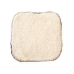 Lulu Nature 10 Lingettes bébé 100% coton biologique 15X15cm x10 produit de soin pour le change de bébé Les Copines Bio