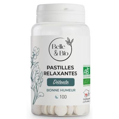 Belle et Bio 100 Pastilles Relaxation aux Huiles essentielles x100 complément alimentaire Les Copines Bio