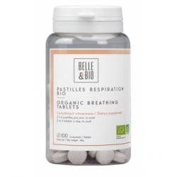 Belle et Bio 100 Pastilles Respiration aux Huiles essentielles  100 pastilles complément alimentaire Les Copines Bio
