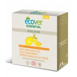 Ecover 25 Tablettes Lave Vaisselle parfum citron x25 Produit de lavage pour la vaisselle Les Copines Bio