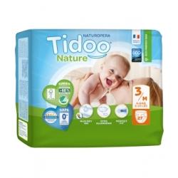 Tidoo 27 Couches Eco Single Pack (T3/M) 4/9kg x27 Produit d'Hygiène pour le change de bébé Les Copines Bio