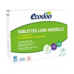 Ecodoo 30 tablettes Lave Vaisselle à l'Oxygène actif  x30 produit de nettoyage pour la vaisselle Les Copines Bio