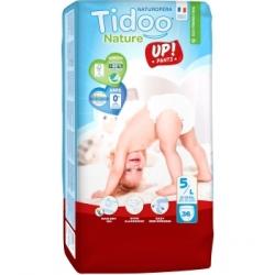 Tidoo 36 Culottes d'Apprentissage Jumbo Pack (T5/L) 12/18kg x36 Produit d'Hygiène pour le change de bébé Les Copines Bio