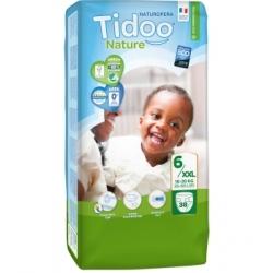 Tidoo 38 Couches Jumbo Pack (T6/XXL) 16/30 Kg x38 produit de change du bébé Les Copines Bio